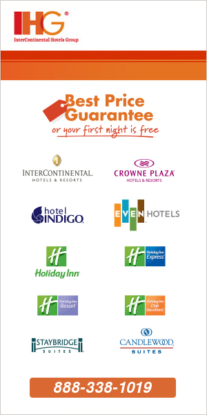 InterContinental Hotels 1800 Toll Free Reservations by Phone
