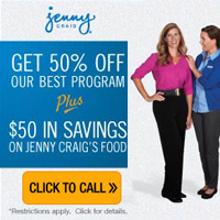 Jenny Craig Toll Free Telephone Number