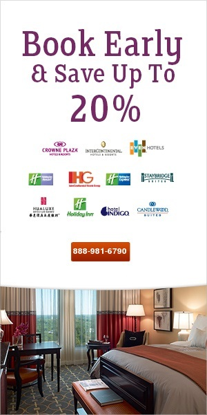 Crown Plaza Hotels - reservations toll free phone number